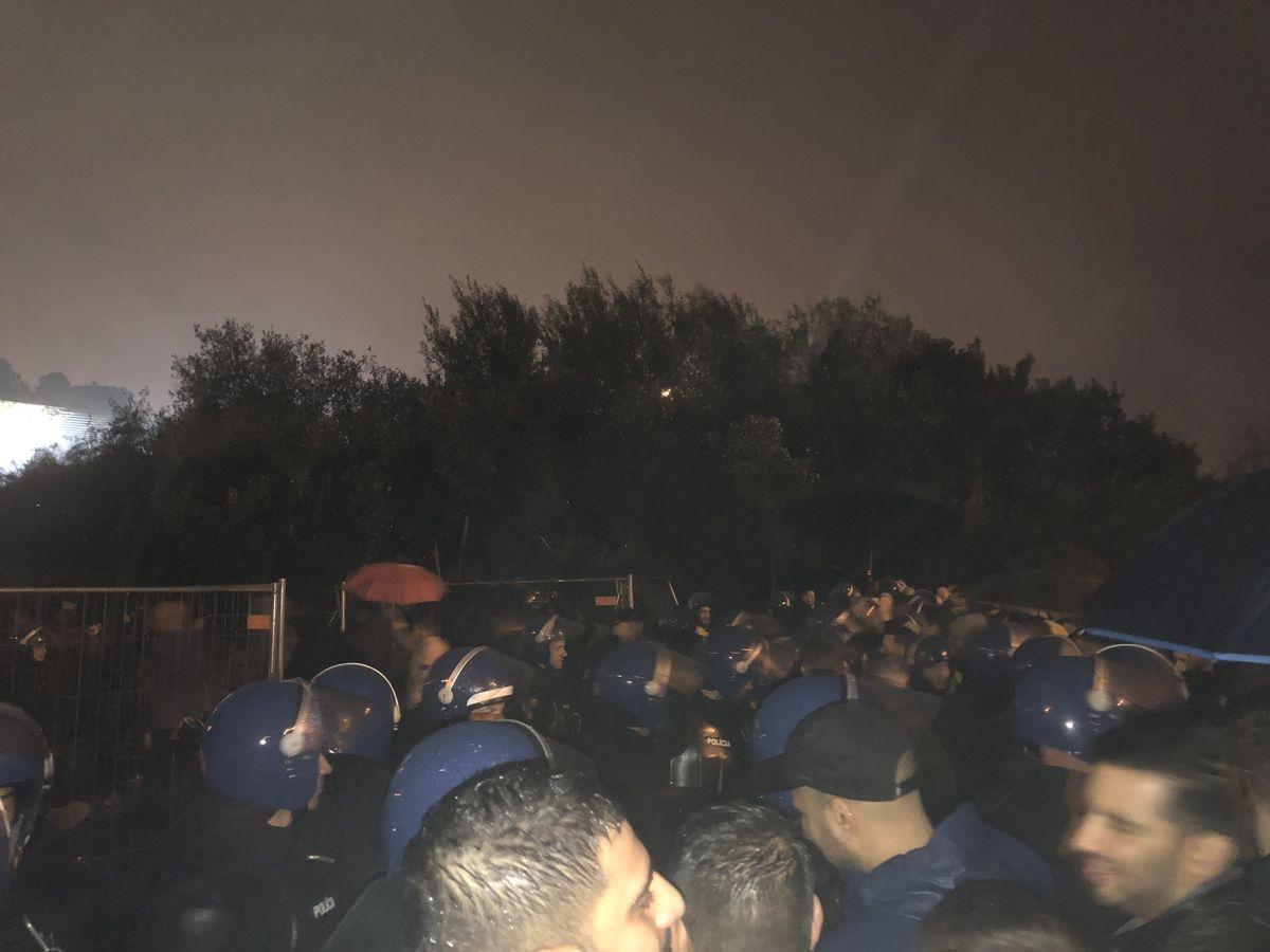 The scene outside the Braga Municipal Stadium. Photo: @_georgewwfc