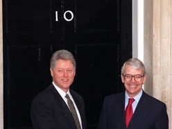 TBT: Bill Clinton returns to Downing Street