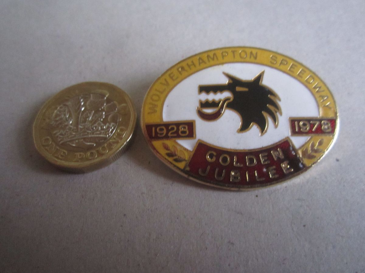 A Wolverhampton Wolves jubilee badge