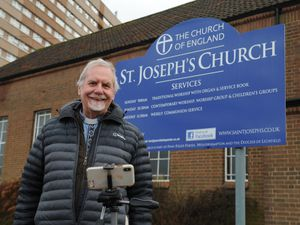 Rev. Tim Eady said St. Joseph's Church would do everything it could to help the local community