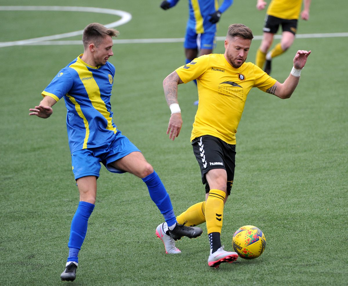Former Wolves player Michael Kightly makes his home debut for Rushall
