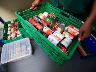 Tories criticised after candidate suggests budget problems behind food bank use
