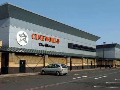 Cineworld sales rise 11.6pc