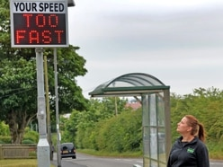 Two new speed indication devices for Hednesford