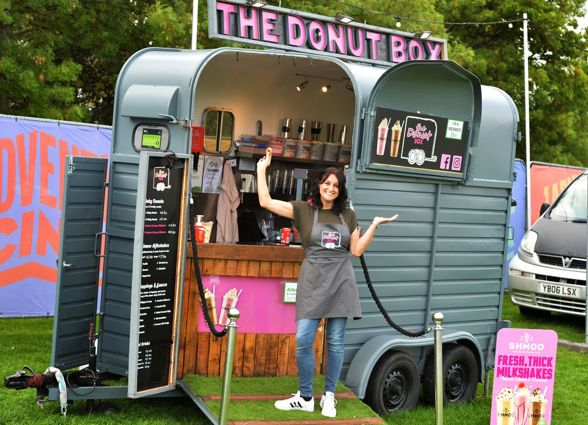 Claire Burnett said she was delighted to be part of the event with her business Donut Box