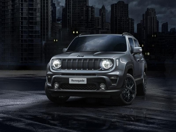 Night Eagle trim revealed for Jeep Renegade and Compass