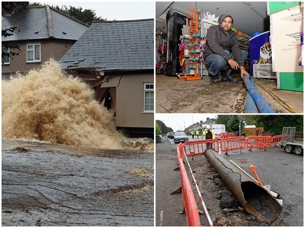 'It has really affected us': Flooded homes and businesses wrecked by burst water main