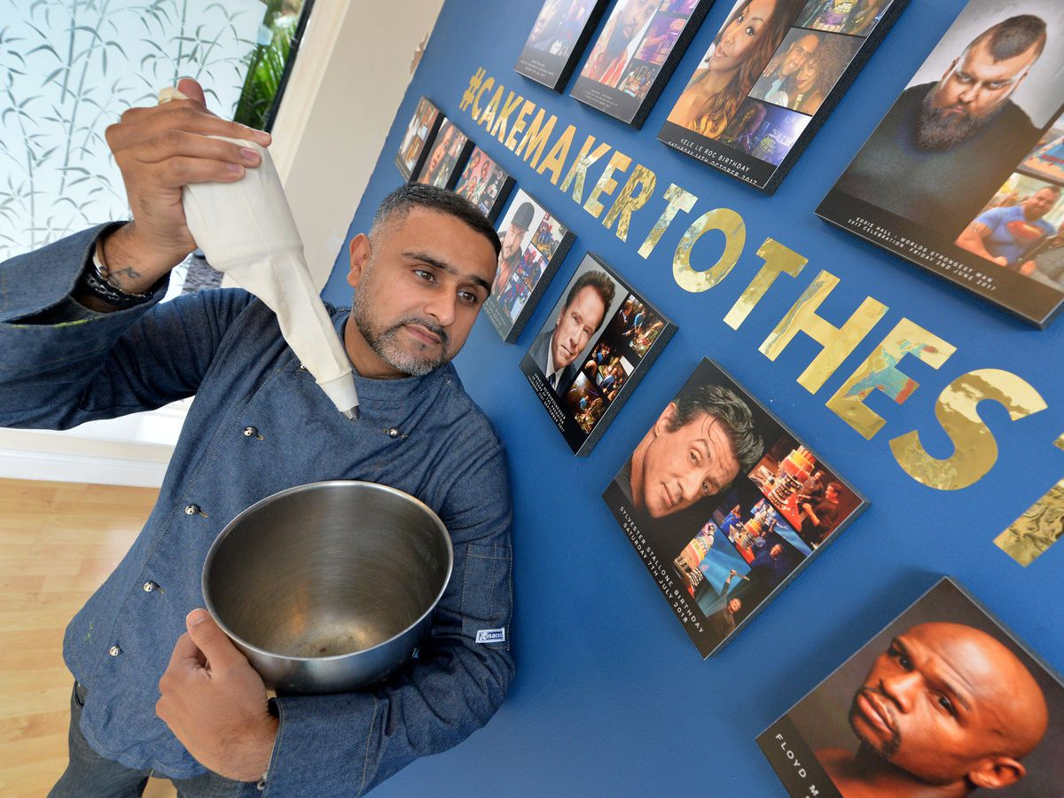 Paz Heer at his Wolverhampton shop