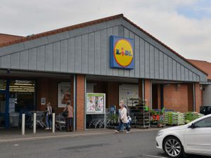 The Lidl in Friar Park, Wednesbury