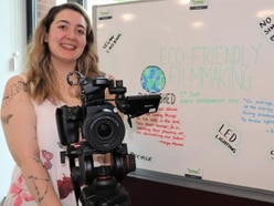 Sustainable filming in picture for Staffordshire University students