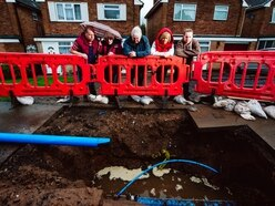 10 floods in one year: Burst pipe misery for neighbours near Wolverhampton