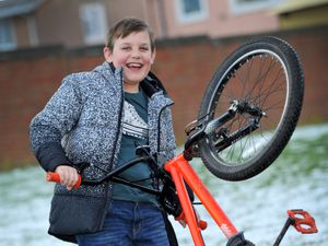 Harry Burns will be riding his bike 15 miles from Wolverhampton to Birmingham via the canal route to raise funds for cleaner water in South Sudan