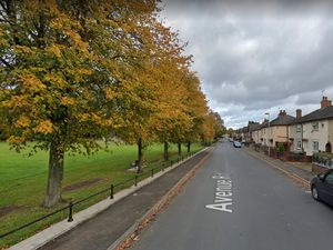 Avenue Road, near Woodside Park, in Dudley. Photo: Google Maps