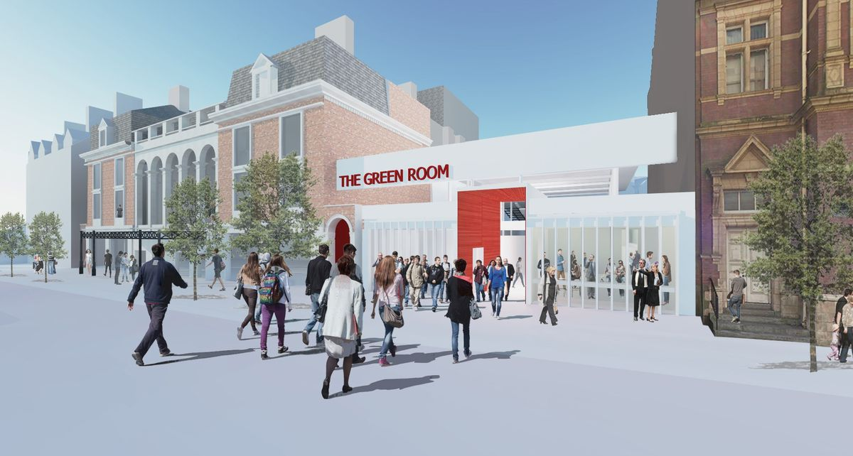 Artists impression of new performance space at Wolverhampton Grand