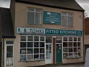 The former R B Tonks shop on Lichfield Road in Brownhills. Photo: Google