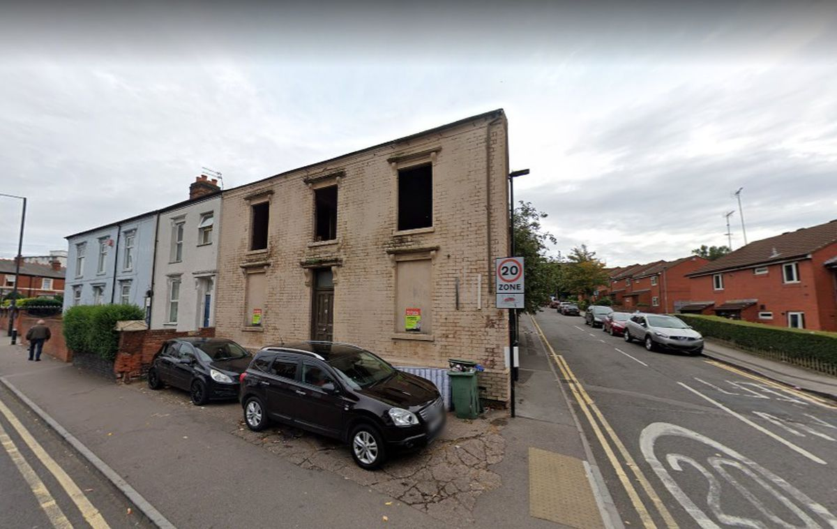 The building in Hope Street, Walsall, which has been derelict for around 20 years. PIC: Google Street View.