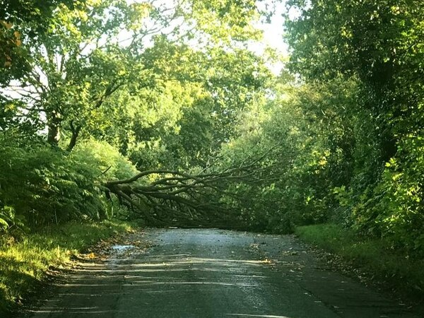 Storm Aileen: Road closures and delayed trains in West Midlands and Staffordshire