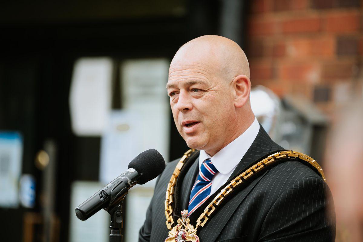 Mayor Greg Brackenridge