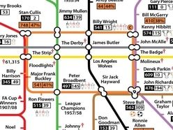 Next stop, Steve Bull! Wolves' history told in London tube map