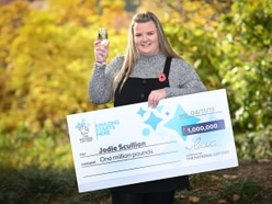 First time lucky for £1m lottery winner Jodie