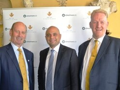 Home Secretary Sajid Javid guest of honour at sporting club lunch