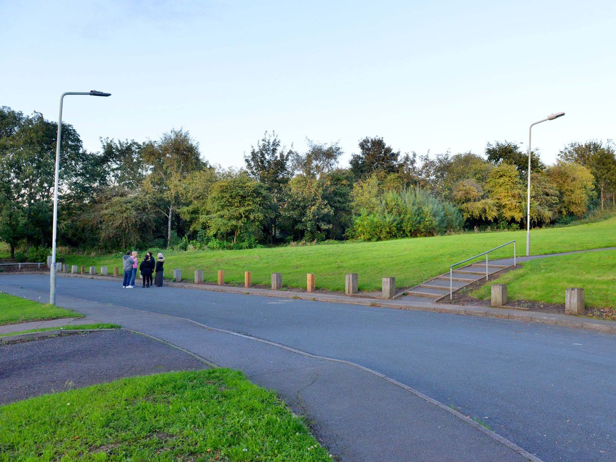 The proposed travellers' site is off Gorsebrook Road in Wolverhampton
