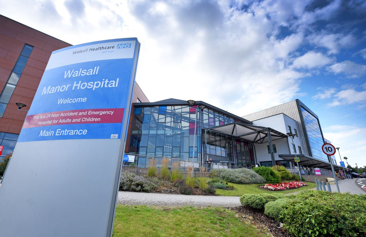 Walsall Manor Hospital officials apologised for failings in the care