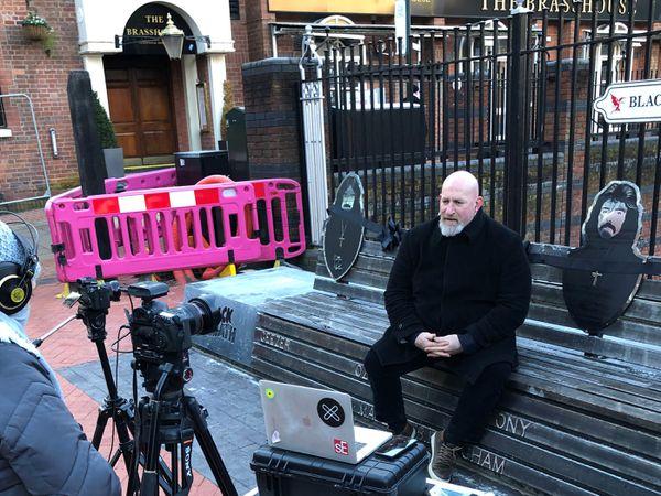 Making the Black Sabbath bench video