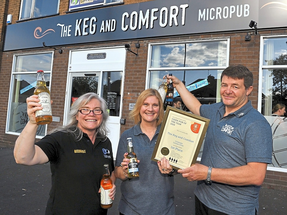 Wolverhampton micropub pulls award