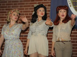 WITH VIDEO The D-Day Darlings perform at the Black Country Living Museum, Dudley..