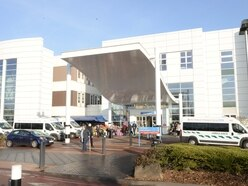 Mixed fortunes on waiting times at Russells Hall Hospital