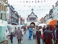 Memories from Jo's album of Bridgnorth twinning