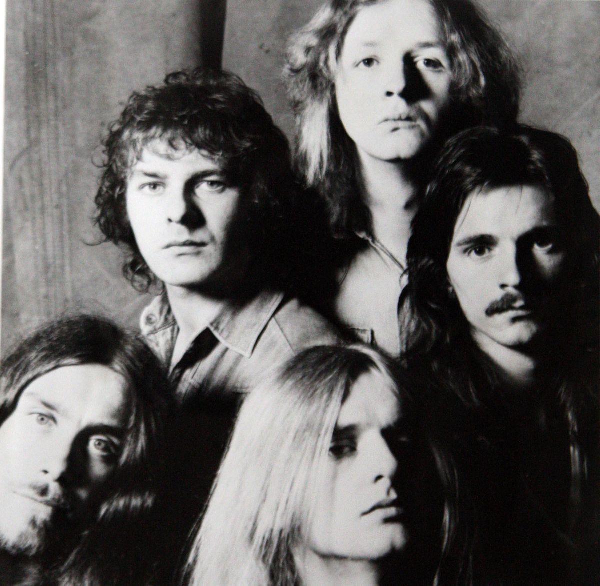 Judas Priest in the 1970s.