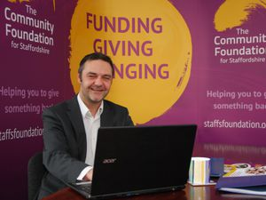 Steve Adams, chief executive of the Community Foundation Staffordshire and Shropshire