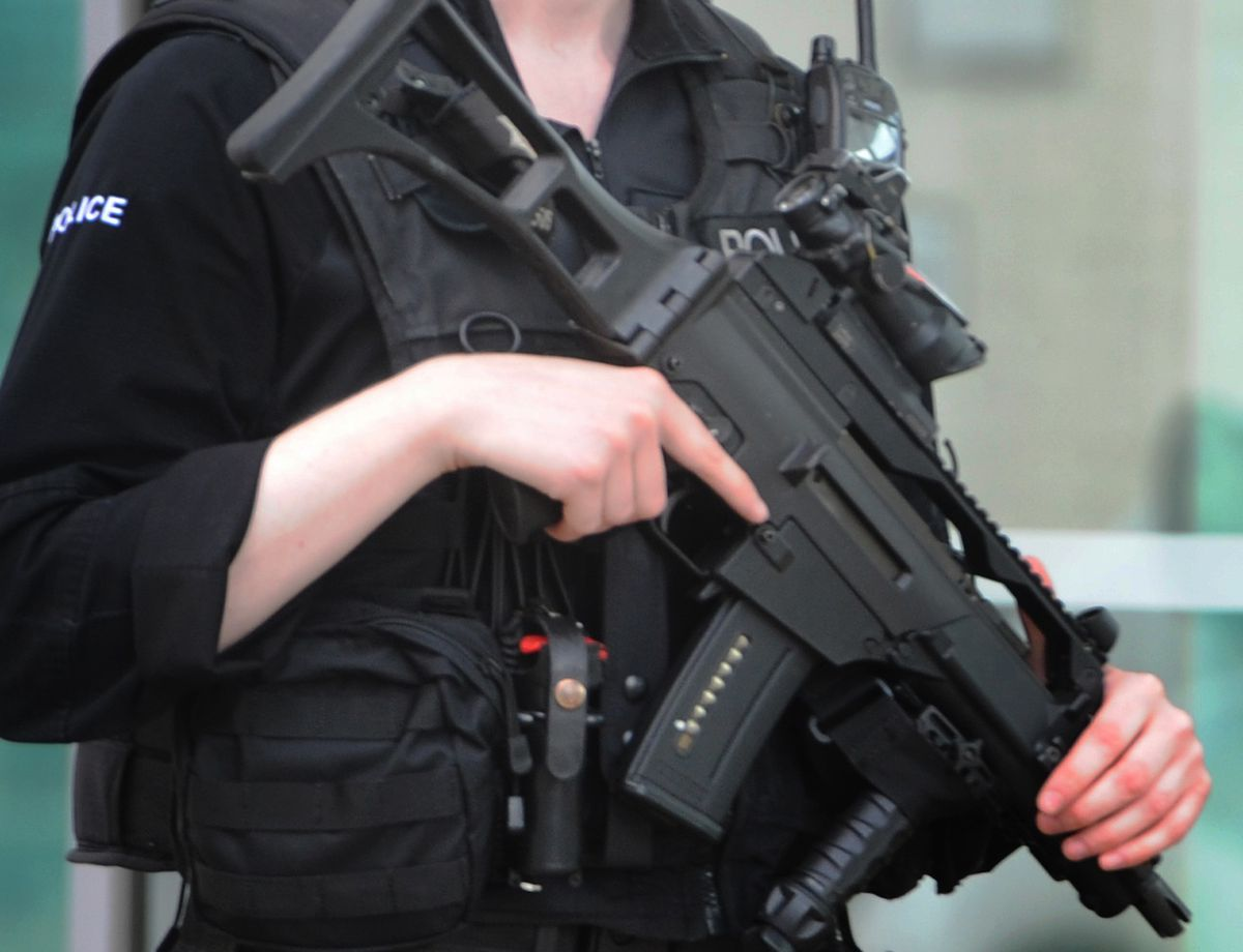 Armed police were sent to Sandwell Road in Handsworth