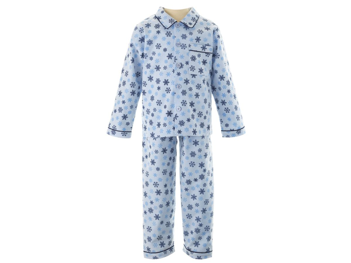 Rachel Riley Snowflake Brushed Cotton Pyjamas