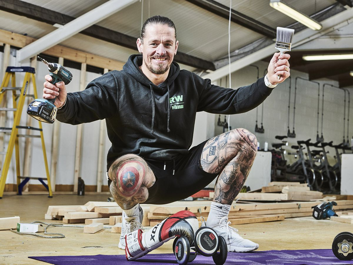 Rich Woodman, owner of Albrighton-based RW Fitness