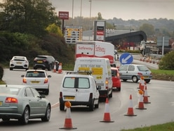 Chaos for drivers as major Cannock roadworks start