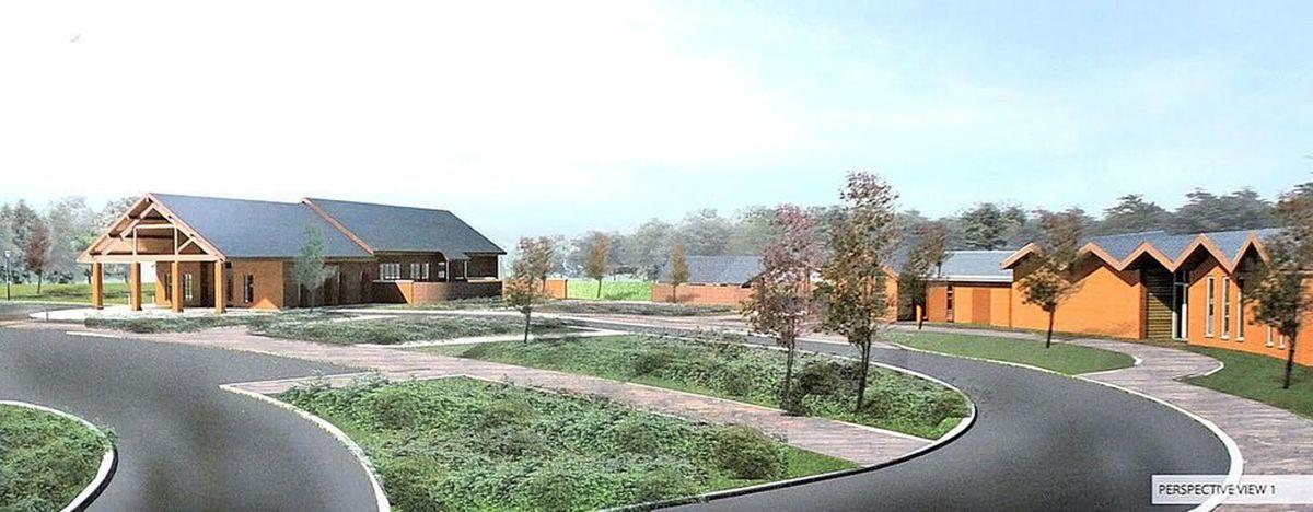 A previous image of the proposed Essington crematorium
