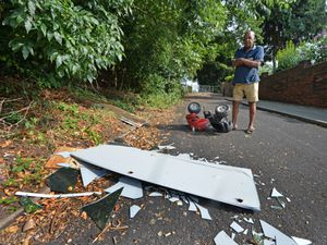 Sonny Campbell has asked the council to stop people dumping rubbish in Sutherland Road