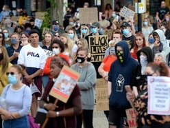 WATCH: Hundreds join Black Lives Matter protest in Stafford