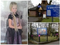 Mylee Billingham: Church support for mourners as pink ribbons appear in sign of unity