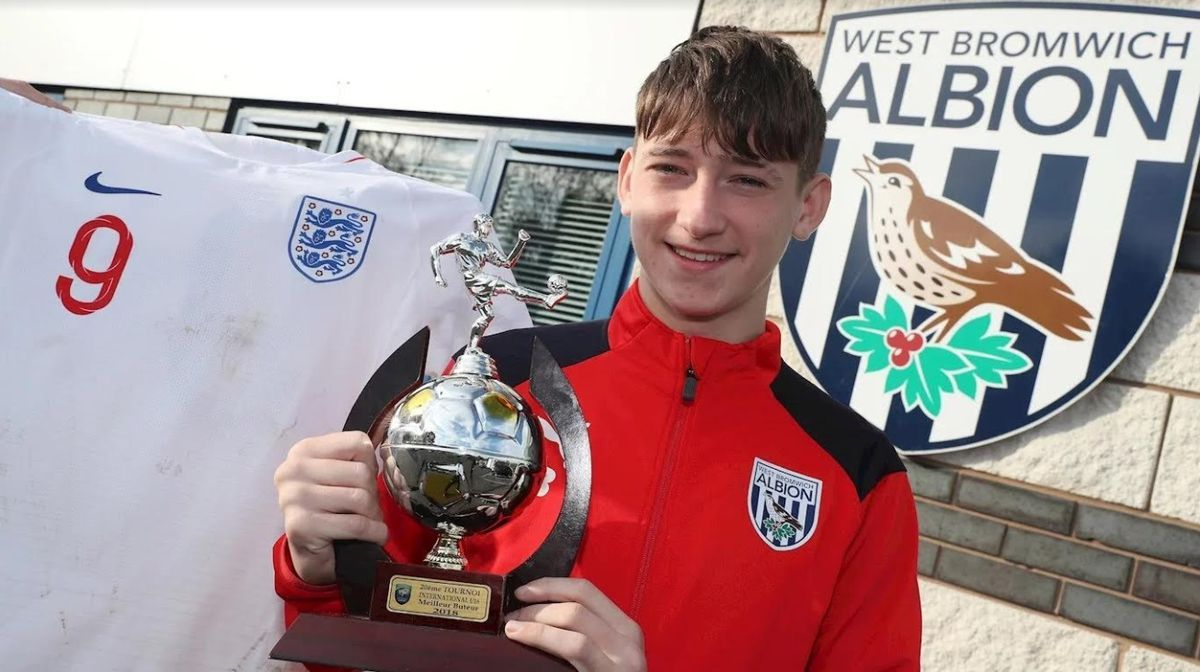 Louie Barry has already made a name for himself. Pic: WBA