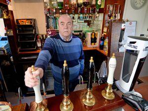 John Smith, landlord of The Chindit Inn in Wolverhampton