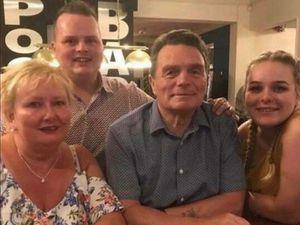 John Walton and family