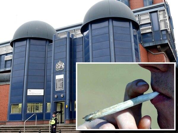 Smoke, sprint, slump: Court told of 'Mamba Olympics' at Birmingham prison