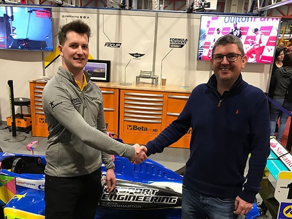 University of Wolverhampton Racing Team lands sponsor