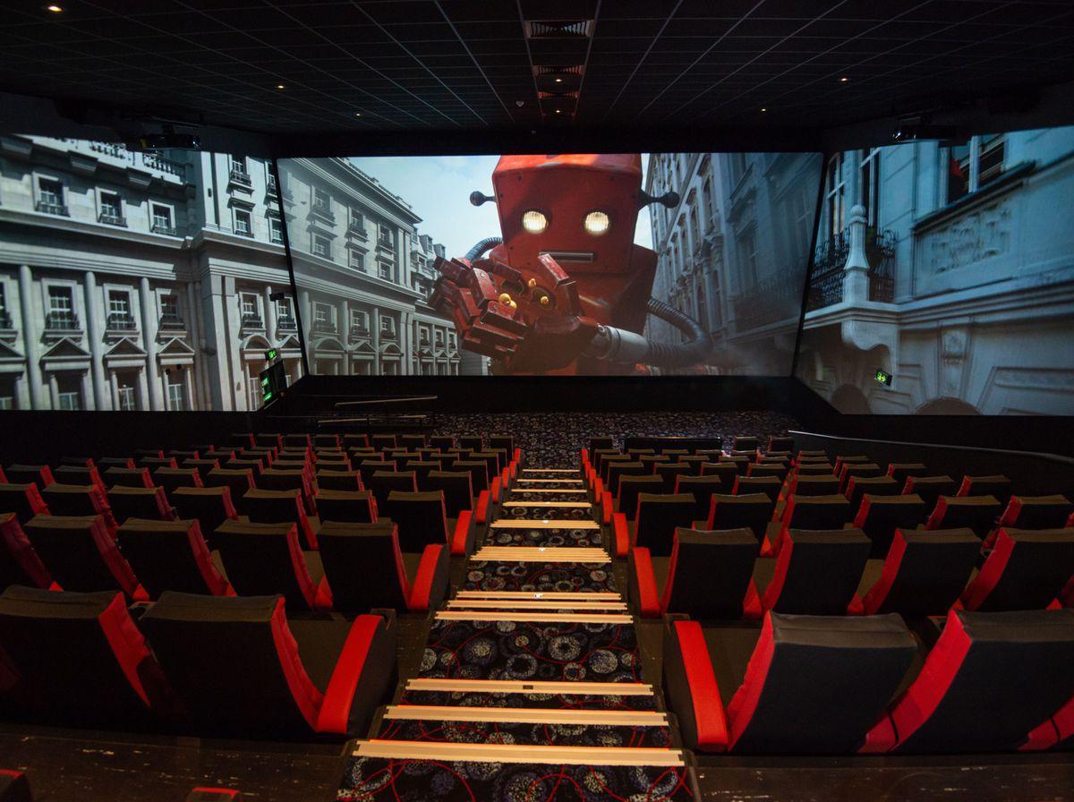Screen X at Cineworld Wolverhampton