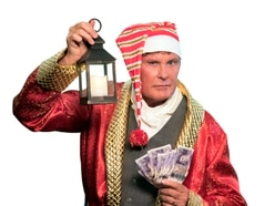 David Hasselhoff Scrooge show coming to Birmingham axed due to production issues