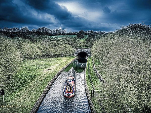 Jason Goodlad used a drone to get a unique view of the canal at Bumblehole, one of scores of images on the Star Witness gallery